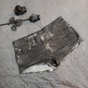 VANS Vintage Mini Jean Shorts